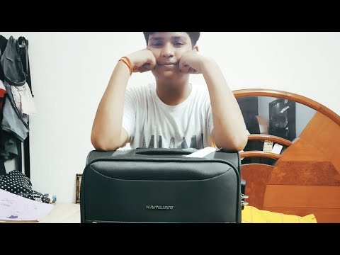 Kamiliant by American tourister 67 CM luggage bag unboxing and first look what's the special thing??