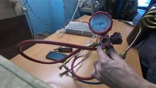 Опрессовка азотом и Testo 549i