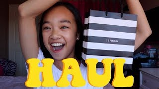 SEPHORA HAUL! Fenty Beauty, Anastasia, Milk Makeup, and More | Nicole Laeno