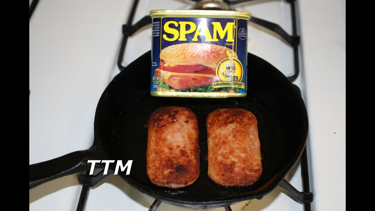 How To Make An Old School Fried Spam Lunch Meat Sandwich