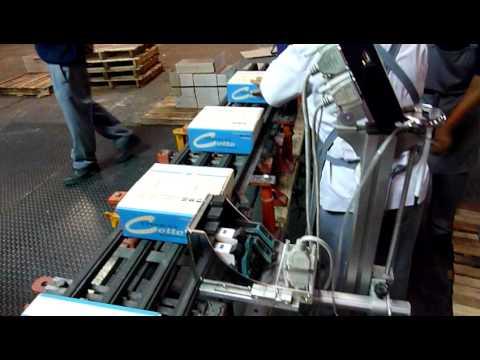 เครื่องพิมพ์ข้างกล่อง โรงงานเซรามิคส์ บริษัท คอตโต้ จำกัด Cotto Ceramics
