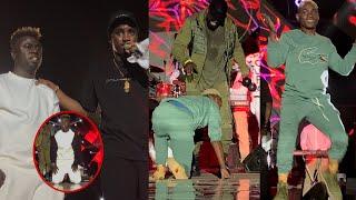 Wally Seck en Gambie, Pawlish Mbaye assure le Show, Ouzin Keita tombe en plein spectacle