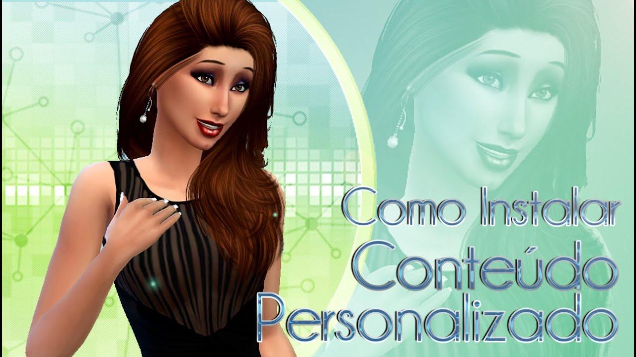 Como baixar e instalar conte do personalizado no the sims for Sala de estar the sims 4