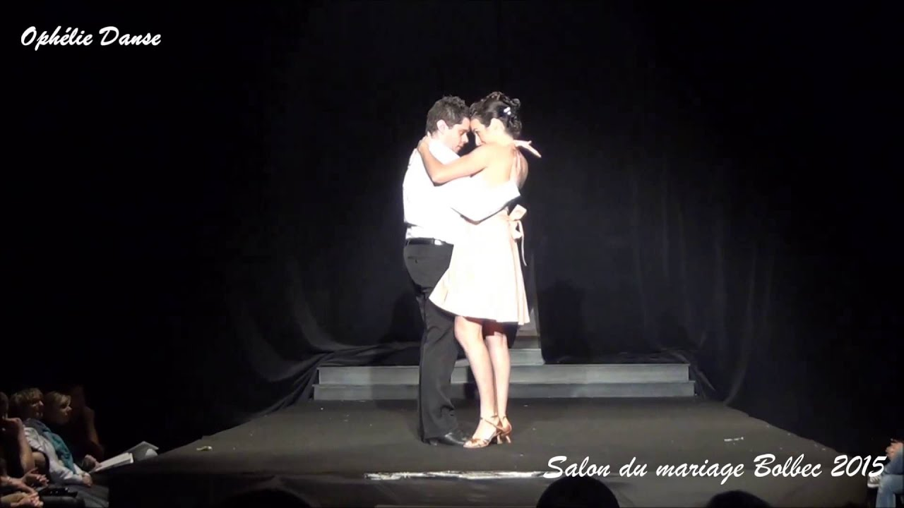 D monstration de danse salon du mariage bolbec 2015 youtube for Youtube danse de salon