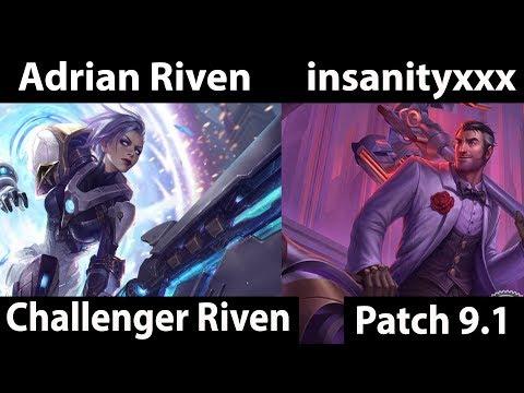 [ Adrian Riven ] Riven vs Jayce [ insanityxxx ] Top - Adrian Riven Challenger Soloq