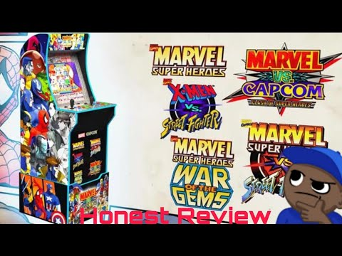 Is It Worth It??? Marvel vs Capcom Arcade1Up Cabinet Honest Review (2021 Restock Version) from MikeOfAllTrades