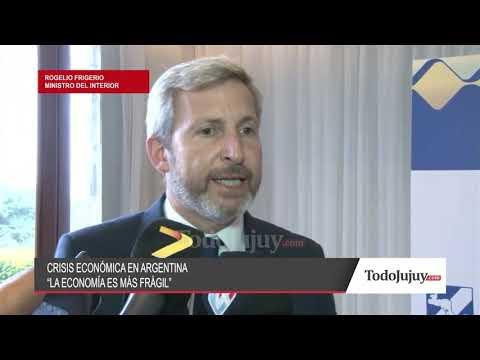 Frigerio: Si el Gobierno perdió credibilidad