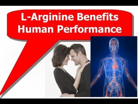 L Arginine Benefits Human Performance
