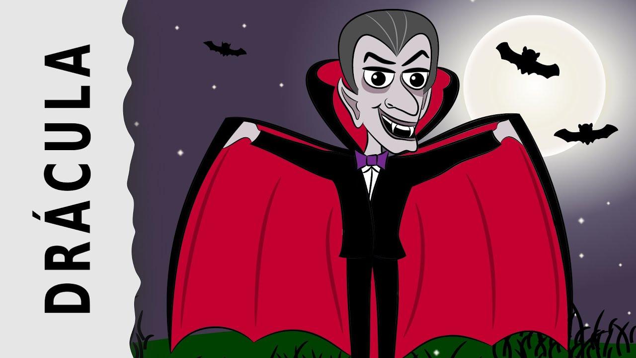 Cmo dibujar a Drcula  Especial de Halloween  YouTube