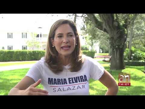 María Elvira arriba en las encuestas por el Distrito 27 contra la titular Donna Shalala
