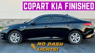 FINAL ASSEMBLY Of My WRECKED Copart KIA Optima *Almost Perfect*