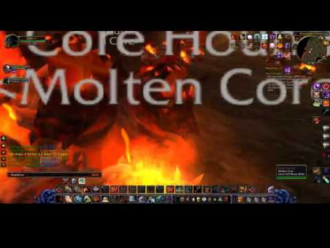 Holy WoW private server, molten core gearing up!