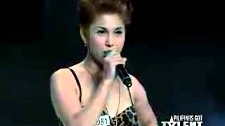Miss Tres in Pilipinas Got Talent sings Sexbomb