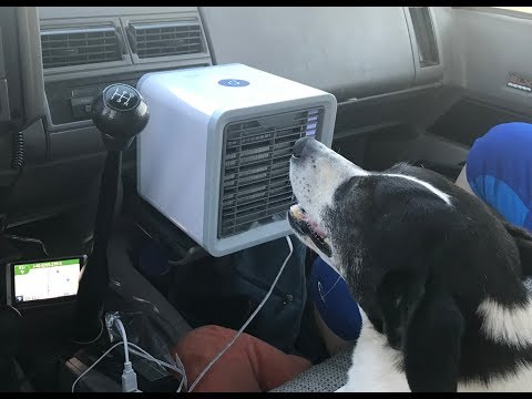Cool your car or house without AC!
