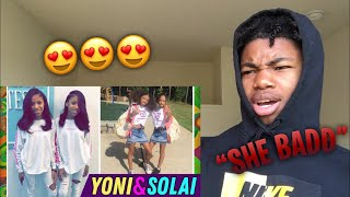 *THEY FINE* YONI & SOLAI 😍😋👅💦 THE WICKER TWINZ INSTAGRAM DANCE STARS COMPILATION *REACTION*