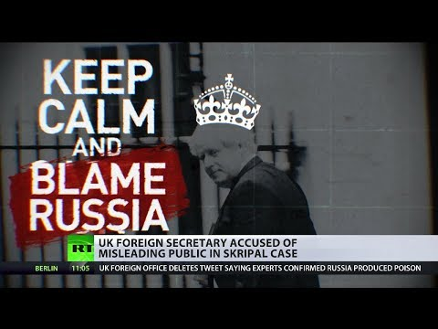 Boris Johnson is accused of misleading Brits over Skripal case