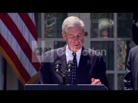 OBAMA COMEY FBI NOMINATION:MUELLER-THANK YOU FBI