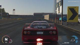 The Crew 2 Beta - Ferrari F40 Test Drive [PS4 Pro]