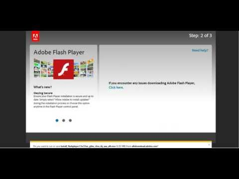 Youtube er adobe flash player