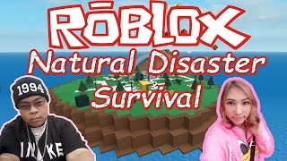 [Roblox] หนีภัยพิบัติ Natural Disaster Survival Feat. Progress 89