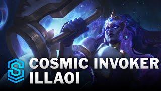 Cosmic Invoker Illaoi Skin Spotlight - League of Legends