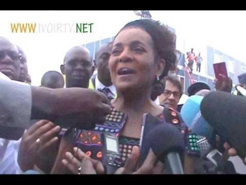 Visite de la Secrétaire générale de la Francophonie Michaelle Jean  à Abidjan