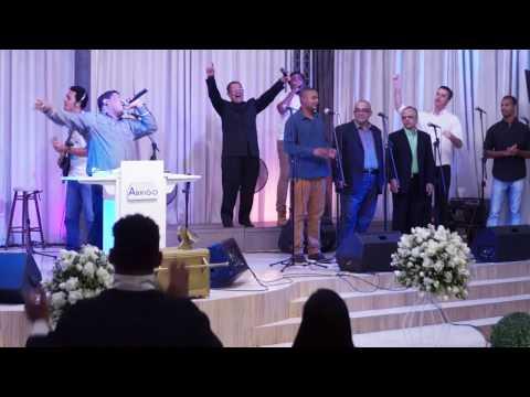 Igreja Cristã Abrigo Aniversário de 5 anos coral de homens