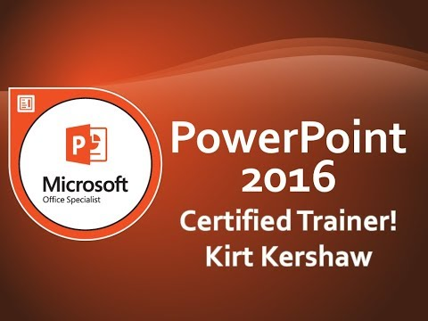 Microsoft PowerPoint 2016: Handout Master