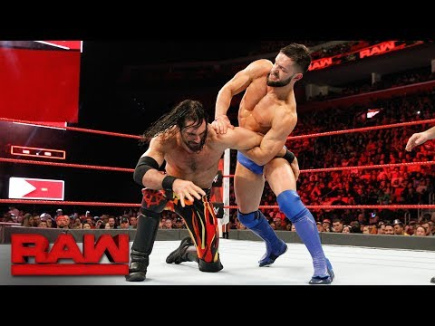 Seth Rollins vs. Finn Bálor: Raw, March 12, 2018