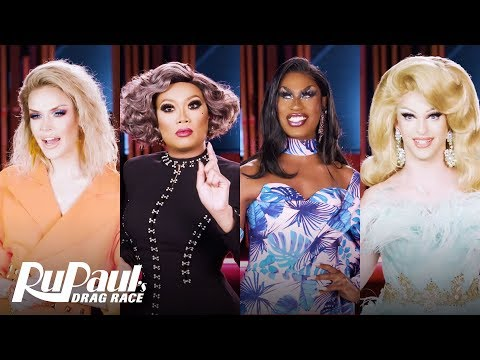 The All Stars 5 Queens Answer: Who R U? | RuPaul's Drag Race All Stars