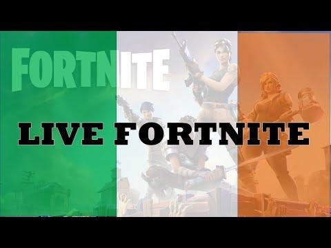 PRO IRISH PLAYERS!! Fortnite Battle Royale Gameplay