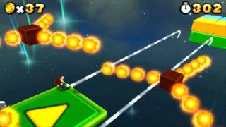 Super Mario 3D Land Final Stage - Special World 8-Crown - Small Luigi (No Powerups)