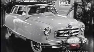 1950 Nash Rambler commercial