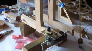 Wooden Gear Clock Part3