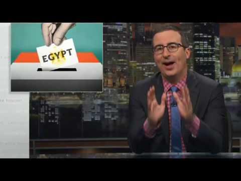 John Oliver - Egypt Election 04/01/18 Last Week Tonight