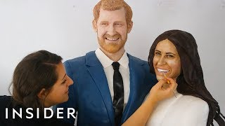 Life-Size Cakes Of Prince Harry And Meghan Markle To Celebrate The Royal Wedding