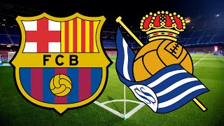 Barcelona face the la liga leaders, real sociedad, on wednesday night live from camp nou. can lionel messi follow up his match-winning goal against levan...