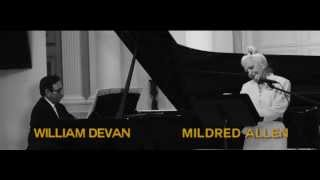 Clip from performance of Babar William DeVan, Mildred Allen linked