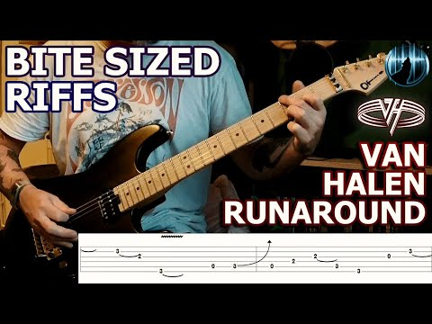 Bite Sized Riffs | Van Halen - Runaround | Intro Guitar Riff