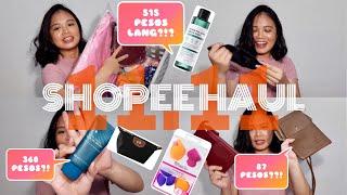 SHOPEE HAUL (11.11 SALE) | BAGS, MAKEUP, SKINCARE & MORE!!!