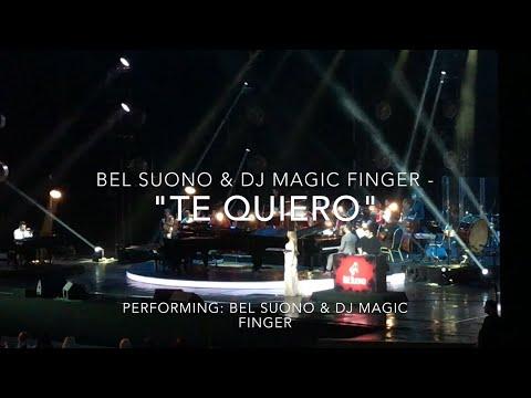 BEL SUONO & DJ Magic Finger - Te Quiero (Crocus City Hall Moscow Live, 2017)