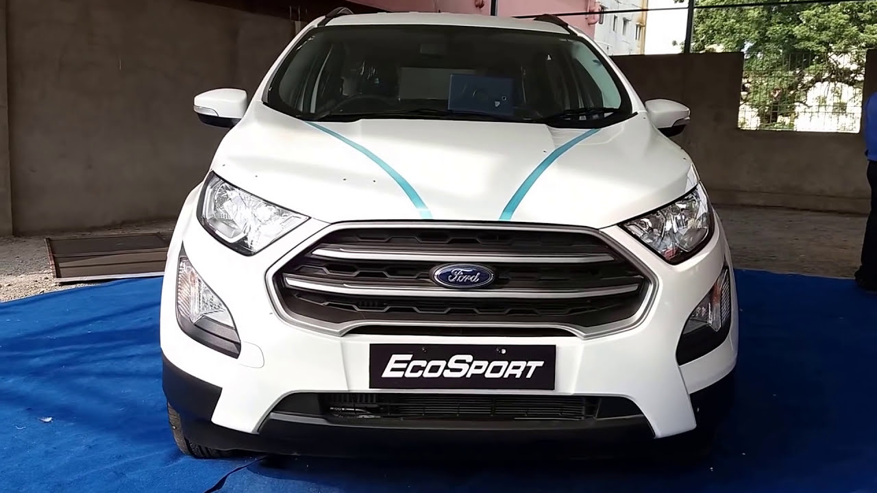 Ford Ecosport Diamond White And Ford Aspire Ruby Red Exterior And Interior P