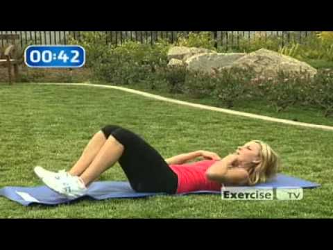 Lower abs – reverse crunch- easy workout