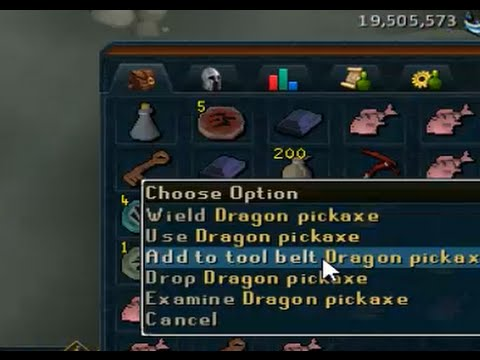 Too Excited For Dragon Pickaxe Drop