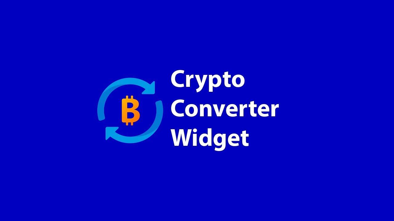 widget convertitore bitcoin