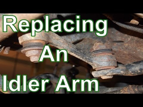 How To Replace An Idler Arm Ford Lincoln Mercury Youtube