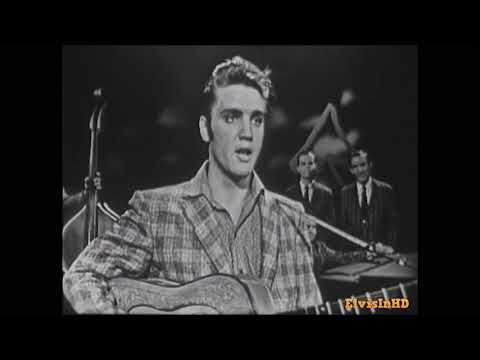 Elvis sings Hound Dog Rocks