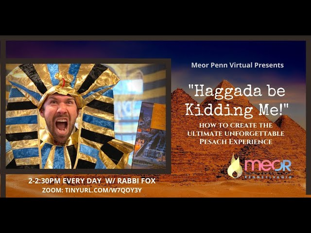 Haggada be kidding me! /// Episode 3: The Seder is the ultimate therapy session