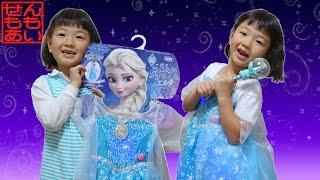 アナと雪の女王 エルサのミュージカルドレス Frozen Elsa Musical Light-Up Dress thumbnail