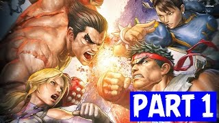 Street Fighter X tekken PC XBOX PS3 Gameplay HD Review PART 1
